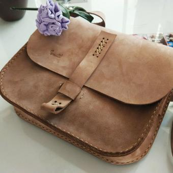 geanta piele facuta manual handmade postas