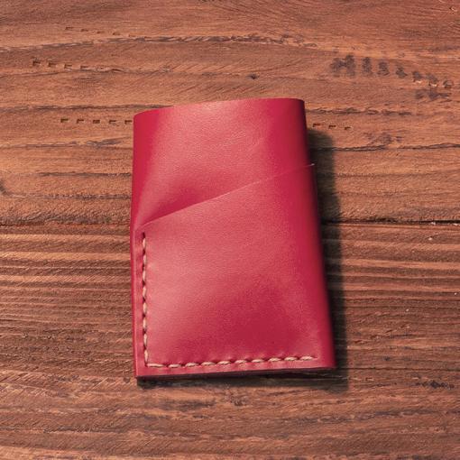 portcard piele naturala personalizat handmade