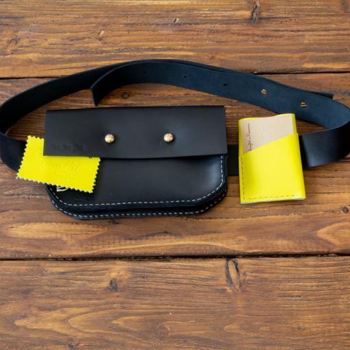 geanta de piele festival fanny bag