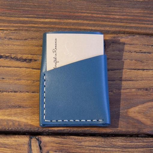 portofel piele turquoise manual
