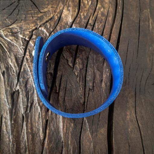 Bratara prenume albastra