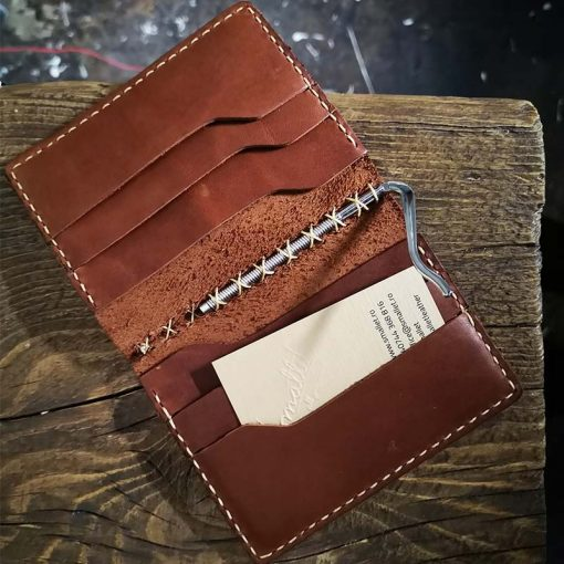 portofel cu clema